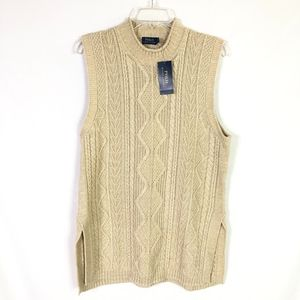 NWT Polo by Ralph Lauren Knit Sweater Vest!